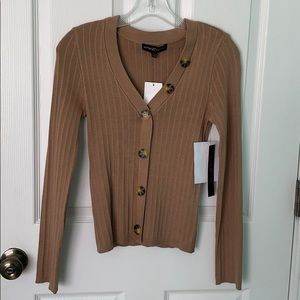 thin long sleeve with buttons WITH TAGS NEVER WORN